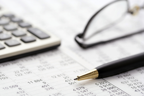 Financial reports profit & loss, balance sheet