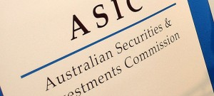 It's a lot faster and easier these days to register a company with ASIC.
