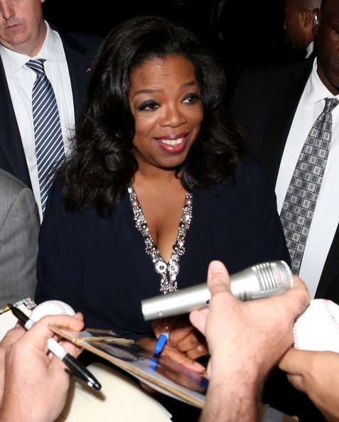 oprah signing her own business cheques