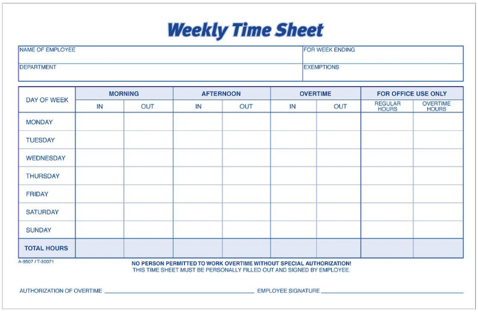 Weekly-manual-printed-time-sheet-for-employees-for-attendance-record-keeping-for-payroll (Timely, Deputy & Integrations for Xero, QuickBooks Online)